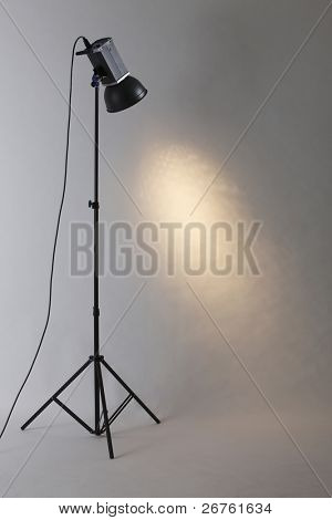stock image of the studio light