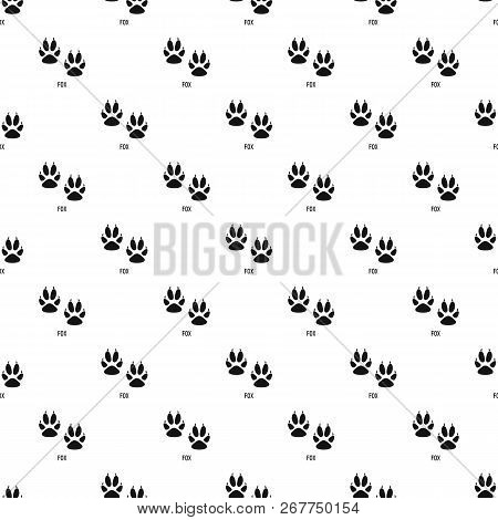 Fox Step Pattern Seamless Repeat Geometric For Any Web Design