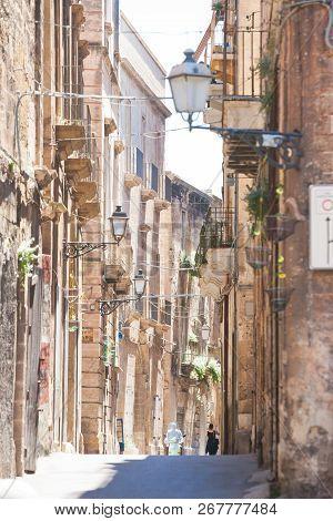 Taranto, Apulia, Italy - Beautiful Middle Aged Architecture Of Taranto