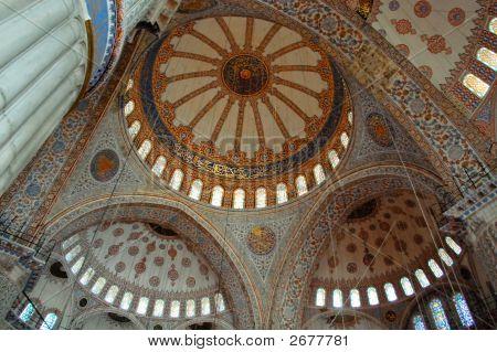 Blue Mosque Interior Dome