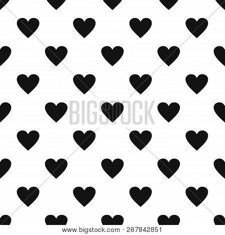 Dull Heart Pattern Seamless Vector Repeat Geometric For Any Web Design
