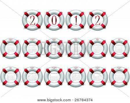 2012 life buoy calendar