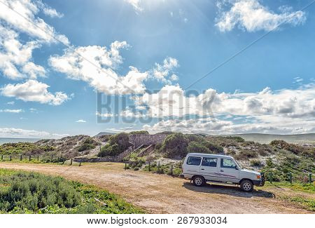 West Coast National Park, South Africa, August 20, 2018: The Toilets At Plankiesbaai In Postberg Nea