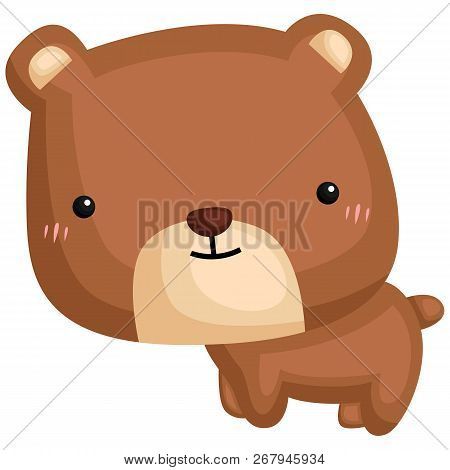 A Vector Of A Cute And Adorable Bear