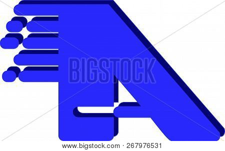 Logo With A Blue