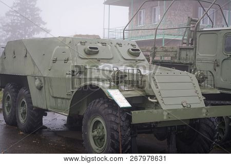 Armored Personnel Carrier Btr-152, Old Russian Arms