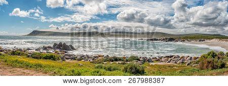 Plankiesbaai At Postberg Near Langebaan On The Atlantic Ocean Coast Of The Western Cape Province