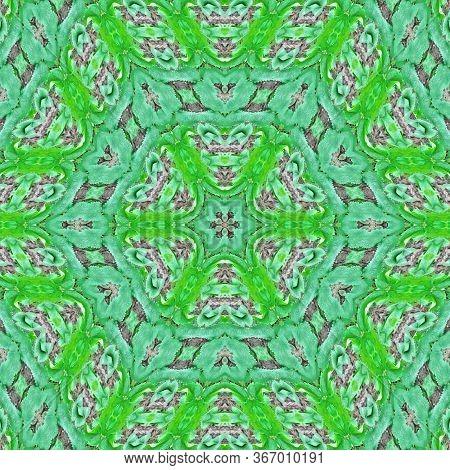 Abstract Kaleidoscope Background. Beautiful Multicolor Kaleidoscope Texture. Unique Kaleidoscope Des