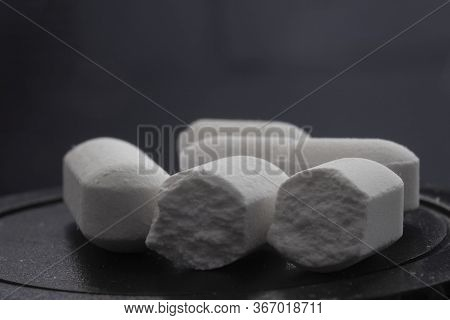 Group Of Painkiller Mono-dosis Pills Close Up.