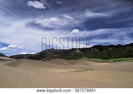 Great Sand Dunes National Park And Preserve Landscape