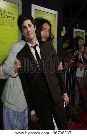 LOS ANGELES - SEP 10:  Ezra Miller arrives at