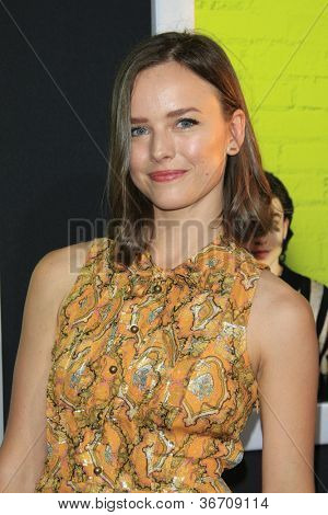 LOS ANGELES - SEP 10:  Allison Miller arrives at