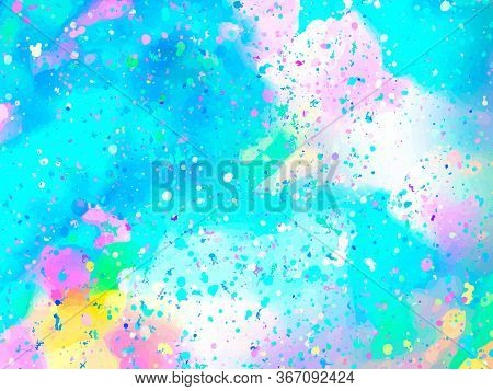 Opal Gemstone Background. Trendy Abstract Vector Template For Holiday Designs, Invitation, Card, Wed