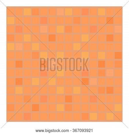 Mosaic Paving Icon. Cartoon Of Mosaic Paving Vector Icon For Web Design Isolated On White Background