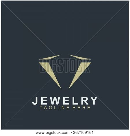 Jewelry Logo Abstract Design