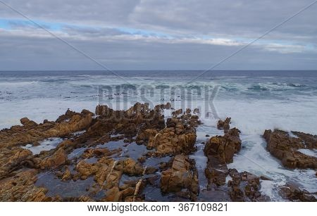 South Atlantic Coast Near Cape Town South Africa