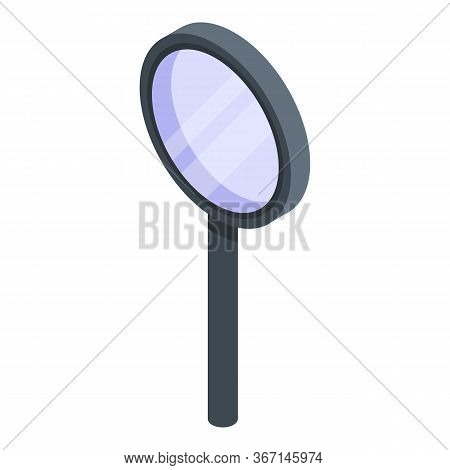 Magnifying Glass Zoom Icon. Isometric Of Magnifying Glass Zoom Vector Icon For Web Design Isolated O