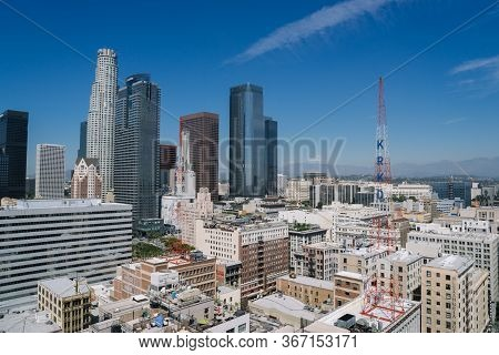 View Of Los Angeles City.