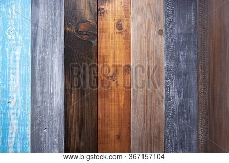 wooden plank wall or table board as background texture