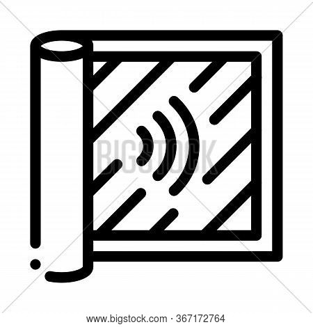 Degree Of Audibility Icon Vector. Degree Of Audibility Sign. Isolated Contour Symbol Illustration