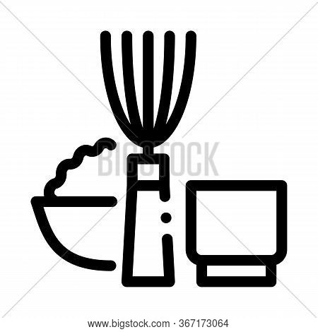 Kitchen Appliances And Devices Icon Vector. Kitchen Appliances And Devices Sign. Isolated Contour Sy