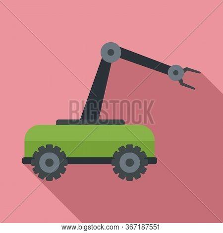 Smart Picking Machine Icon. Flat Illustration Of Smart Picking Machine Vector Icon For Web Design