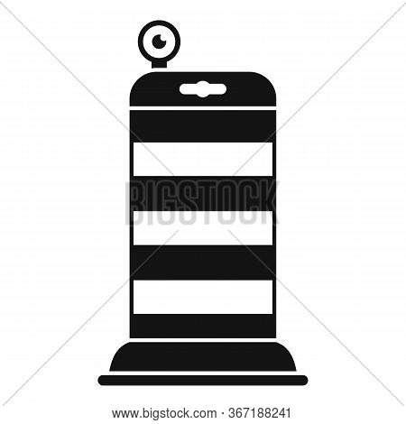 Road Repair Barrier Icon. Simple Illustration Of Road Repair Barrier Vector Icon For Web Design Isol