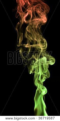 Colorful Smoke Detail