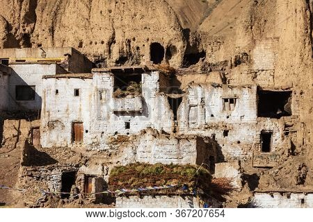 Lamayuru Monastery Or Gompa Is A Tibetan Style Buddhist Monastery In Lamayuru Village In Ladakh, Nor