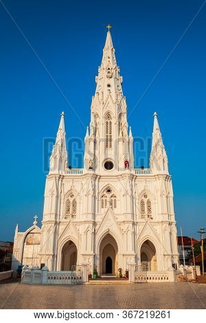 Our Lady Of Ransom Church Is A Catholic Church Located At Kanyakumari City In Tamil Nadu State Of In