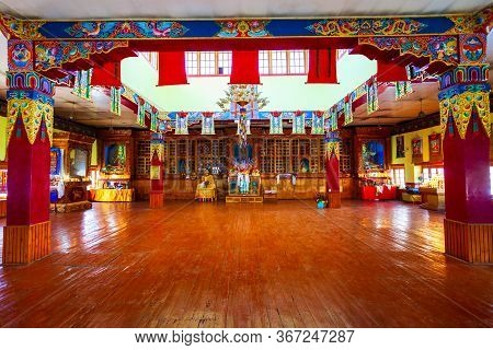 Leh, India - September 26, 2013: Hemis Monastery Or Gompa Is A Tibetan Style Buddhist Monastery In H