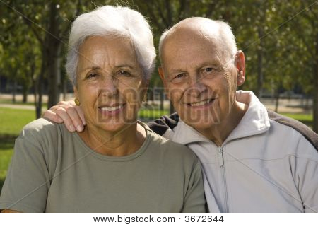 Handsome Senior Couple