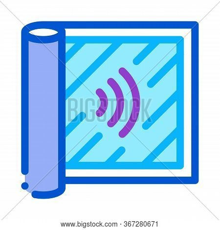 Degree Of Audibility Icon Vector. Degree Of Audibility Sign. Color Symbol Illustration