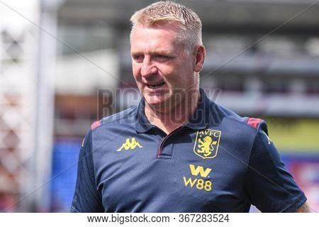 London, England - August 31, 2019: Villa Manager Dean Smith Pictured Ahead Of  The 2019/20 Premier L