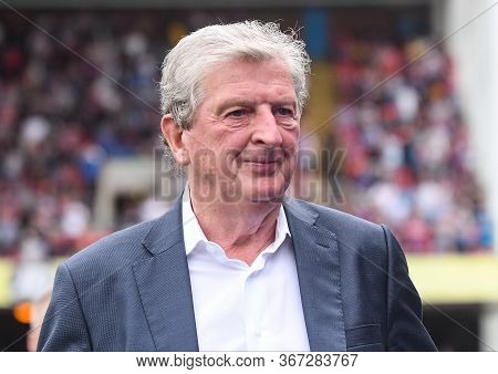 London, England - August 31, 2019: Palace Manager Roy Hodgson  Pictured Ahead Of  The 2019/20 Premie