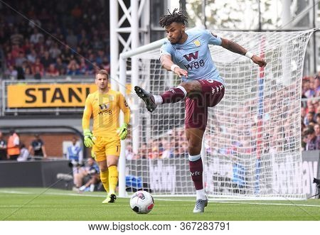 London, England - August 31, 2019: Tyrone Mings Of Villa Pictured During The 2019/20 Premier League