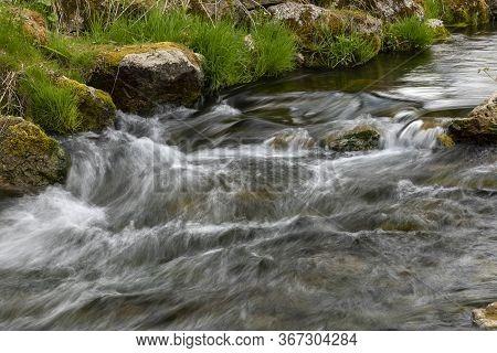 Garvin Brook Rapids - A Closeup Of Rapids In Spring.