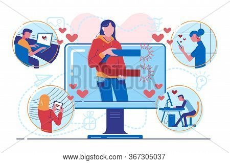 Influencer Digital Marketing For Followers Attraction. Blogger Promotion Services. Media Content To