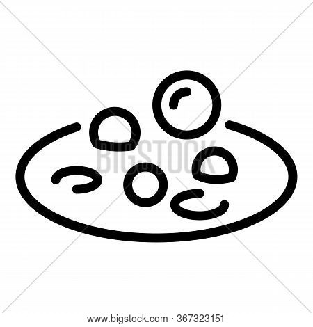 Biohazard Boiling Substance Icon. Outline Biohazard Boiling Substance Vector Icon For Web Design Iso