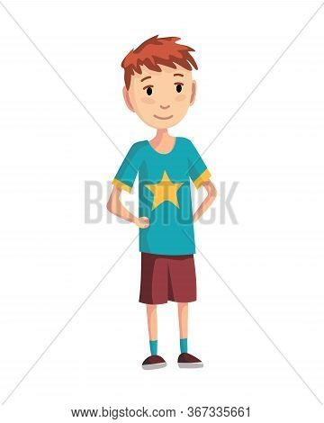 Stage Of Development - Teenage Boy. Generations Man. People Generations Or Male Aging Process. Male