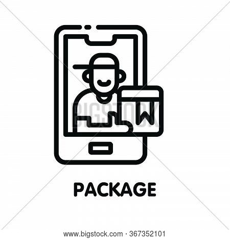 Icon Package  Outline Style Icon Design  Illustration On White Background