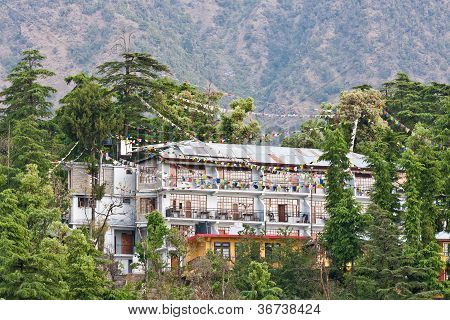 McLeod Ganj, Dharamsala, Himachal Pradesh, Indien.