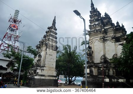 Bali, Indonesia - March 25 : Landmarks Of Bali For Balinese People And Indonesian People And Foreign