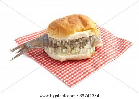 Herring On Bread