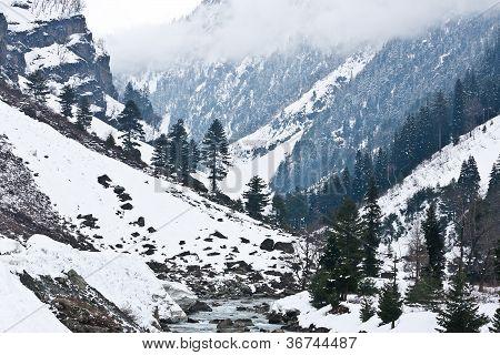 Berge, Sonamarg, Kaschmir, Indien