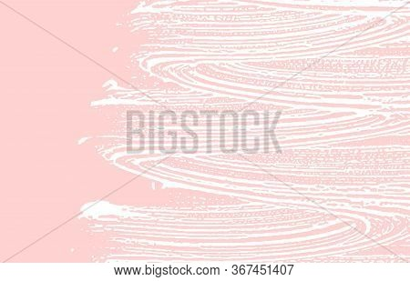 Grunge Texture. Distress Pink Rough Trace. Grand Background. Noise Dirty Grunge Texture. Delightful