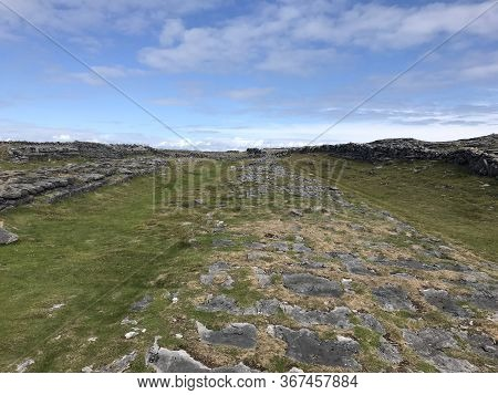 The Dry Stone Walls Of The Aran Islands