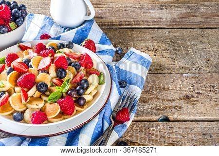 Breakfast Cereal Pancakes