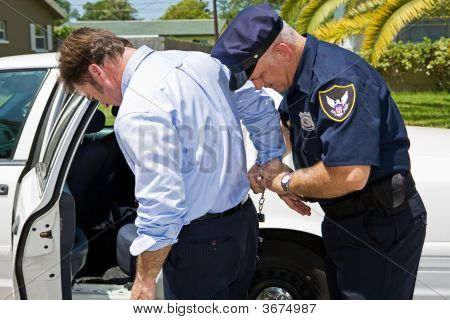 Arrested In Public