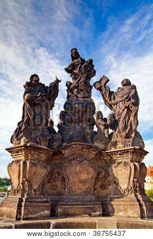Madonna - Sculpture On A Charles Bridge, Prague